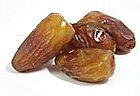 Dried date at maturity